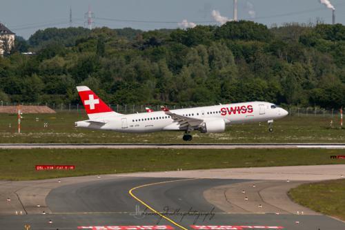 Airbus A220-300, HB-JCB
