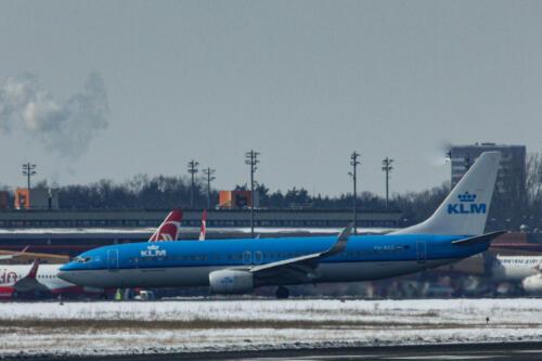 KLM Boeing 737-8K2 PH-BXD