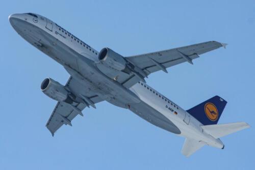 Lufthansa Airbus A320-211 D-AIQP