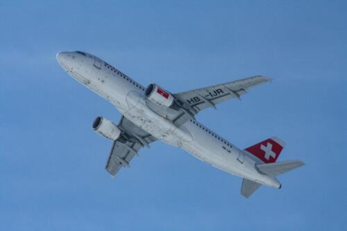 Swiss Airbus A320-214 HB-IJR