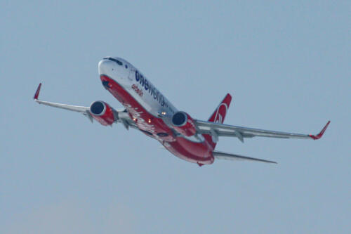 """AirBerlin Boeing Boeing 737-86J D-ABMF """"OneWorld Livery"""""""